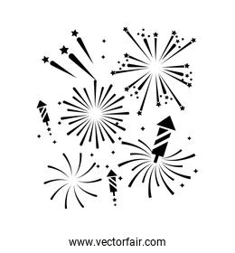 firework outline