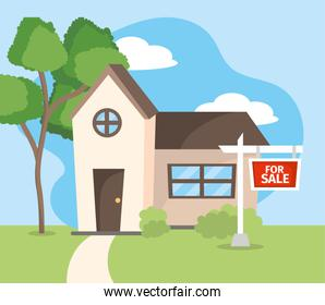 real state sale of house property