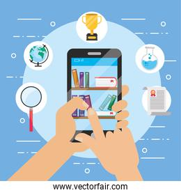 smartphone technology with elearning education book