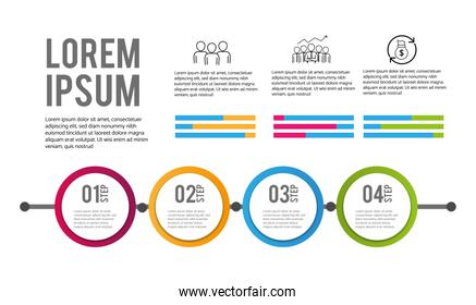 infographic data business information plan