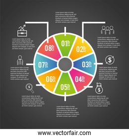 strategy business infographic data information