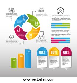 infographic strategy business proccess plan
