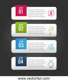 business infographic strategy report information