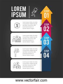 infographic business information project plan
