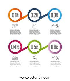 infographic finance business information report