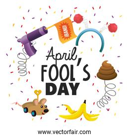 funny things toy to fools day