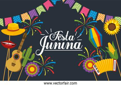 party banner to festa junina decoration