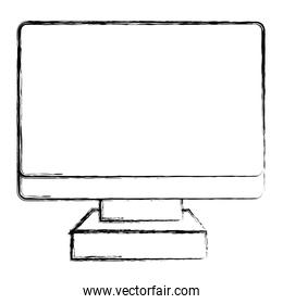 grunge electronic screen computer technology icon