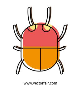 moved color spider insect animal danger symbol