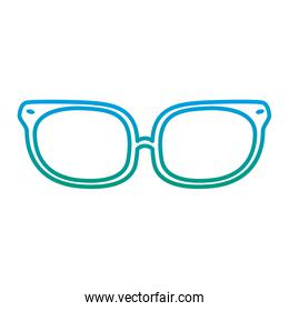 degraded line optical glasses object with frame style