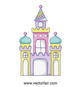 candy medieval castle and artistic design
