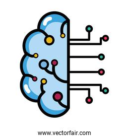 artificial intelligence to brain circuits technology