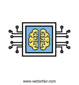 chip brain circuits to artificial intelligence