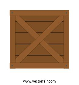 wooden delivery package service order