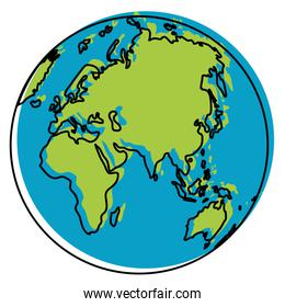 moved color asia and europa global planet map
