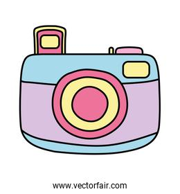 line color professional digital camera photo technology