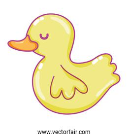 child rubber duck toy object