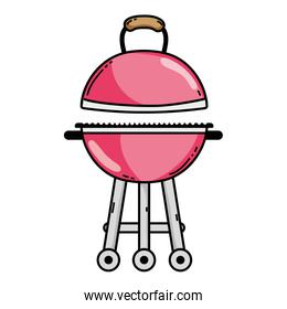 bbq grill object to food nutrition