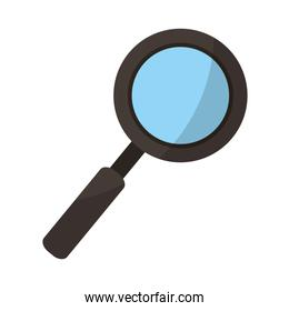 optical magnifying glass tool to search