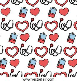 color blood donation transfusion event background,