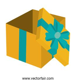 present gift package to party event