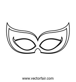line party mask to holiday event decoration