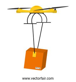 drone technology with delivery package service