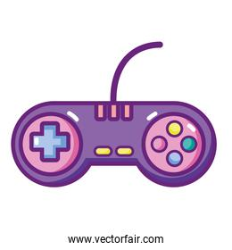 videogame controller with play buttons technology
