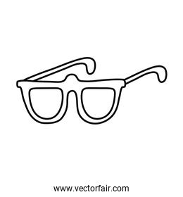 line glasses frame style optical object