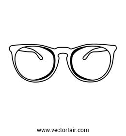 line glasses object optical with frame style