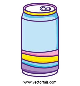 cold soda can fresh beverage