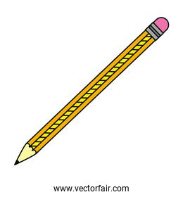 wood pencil object to draw and write