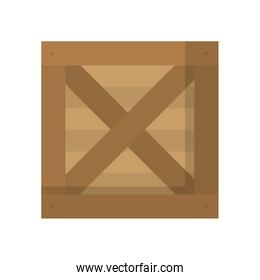 wood box delivery package product
