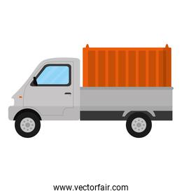 delivery truck container transport service