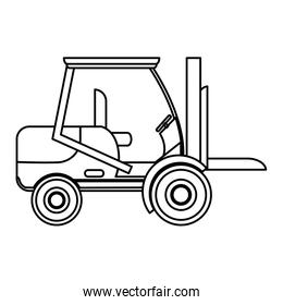 line forklift transportation machine industry vehicle