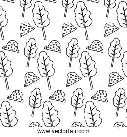 line tree stalk branch and nature bush background
