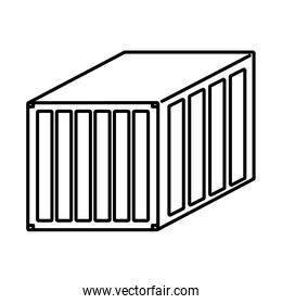 line delivery container cargo shipping export
