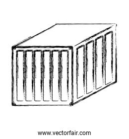 grunge delivery container cargo shipping export