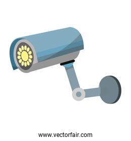 exterior video camera technology to security