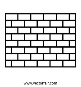 line structure brick wall architecture block