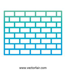 degraded line structure brick wall architecture block