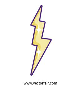 electric thunder storm weather style