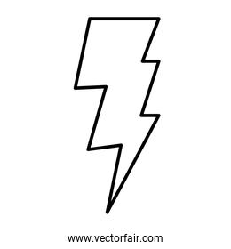 line electric thunder ray weather style