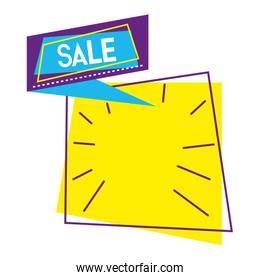 special sale promotion label style
