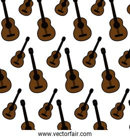 color guitar music instrument style background