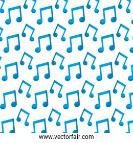 beam note musical sign background