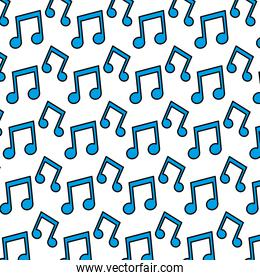 color beam note musical sign background