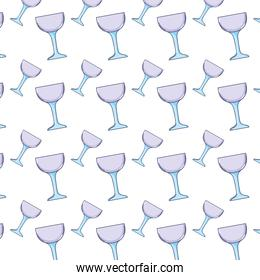 crystal glass object style background