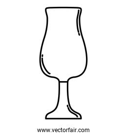 line cystal fragile object glass style