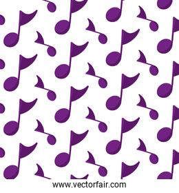 musical quaver note sign background